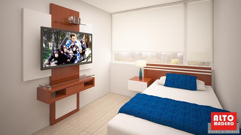 Mueble para tv en dormitorio gallery of mueble tv for Mueble tv dormitorio