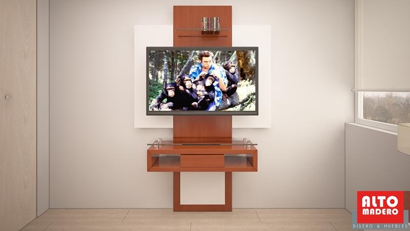 Mueble Para Tv En Dormitorio. Dormitorio De Matrimonio Donde Hemos ...