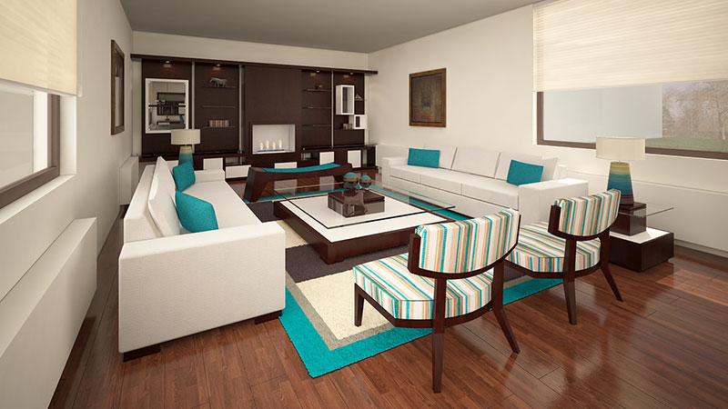 Mueble living alto madero for Muebles para living