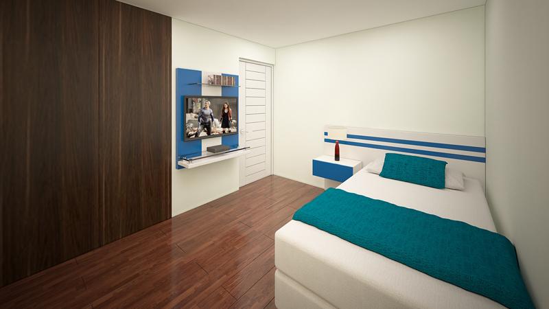 Muebles TV dormitorios 4