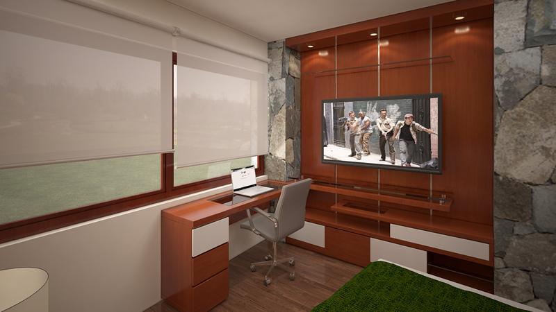 Dormitorio Mueble TV 4