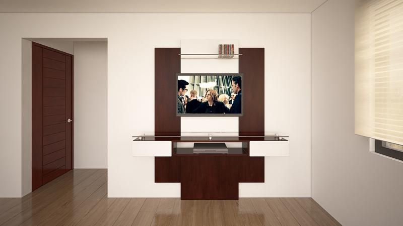 Dormitorio Mueble TV Trasera 3