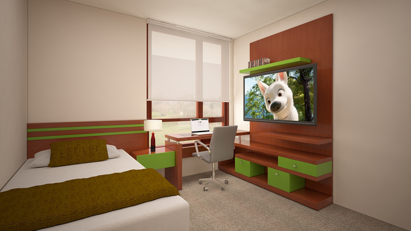 Muebles TV dormitorios 3