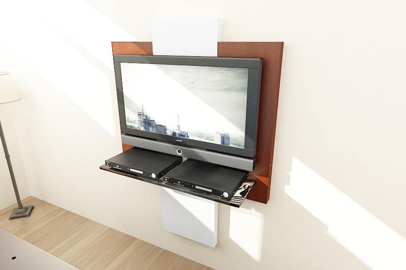 Dormitorio Mueble TV Trasera 4
