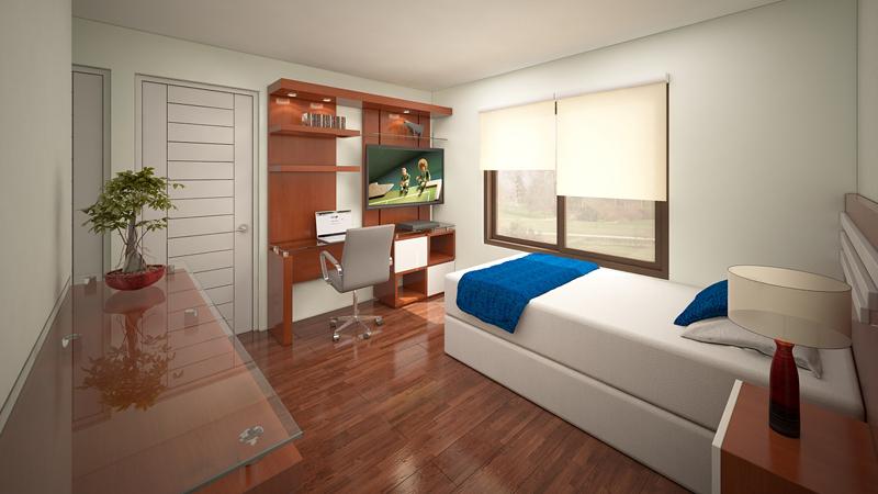 Dormitorio Mueble TV 11