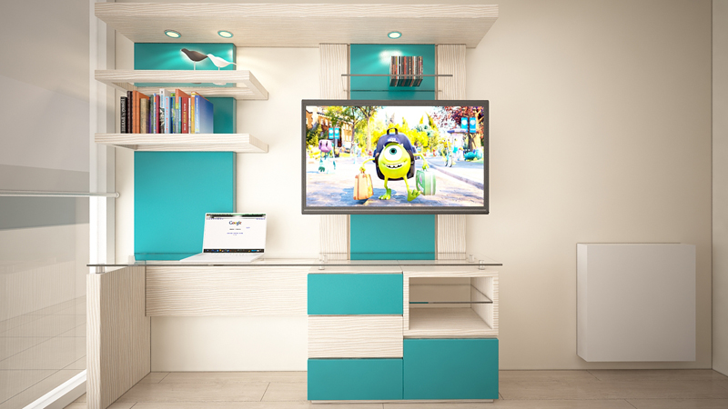Muebles TV dormitorios 2