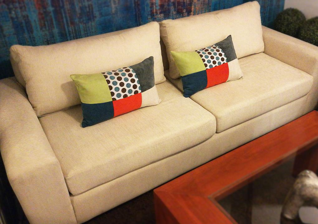 Sofa Blanco Chenille