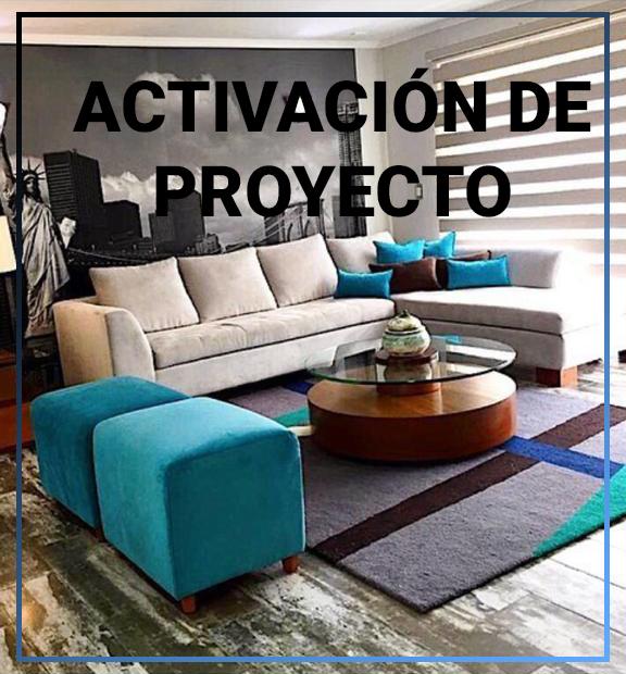 ACTIVACION DE PROYECTO
