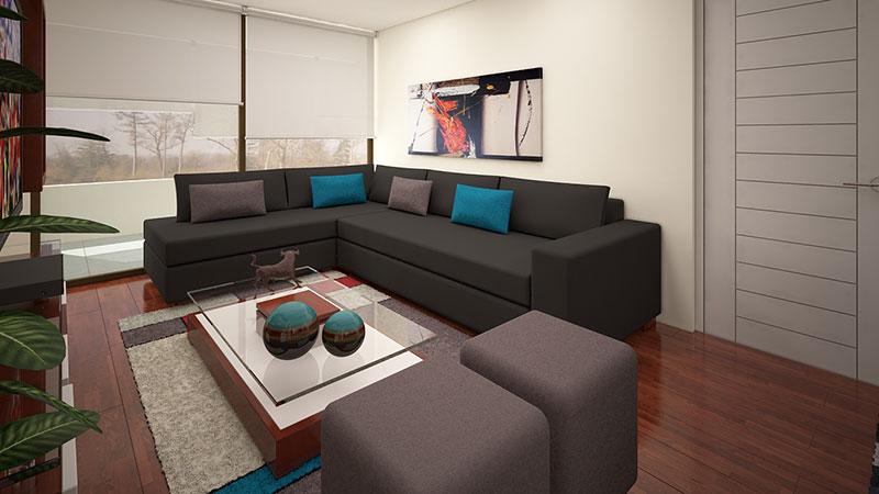 Sofa L Gris