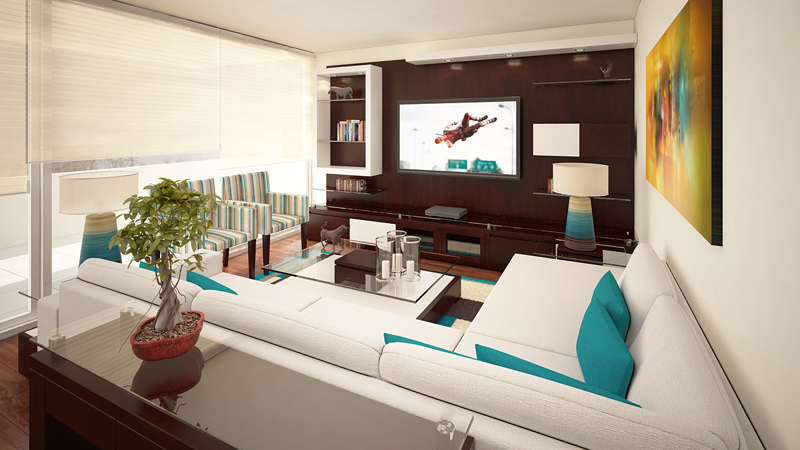 Mueble TV living 1