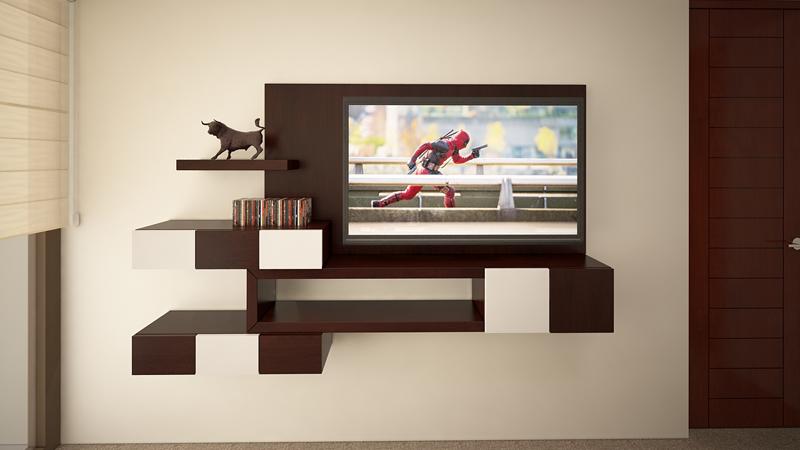 Dormitorio Mueble TV 2
