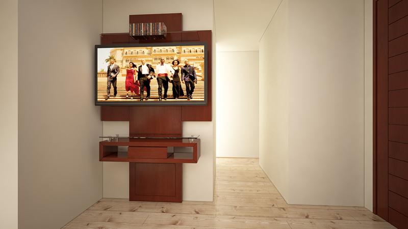 Dormitorio Mueble TV Trasera 2