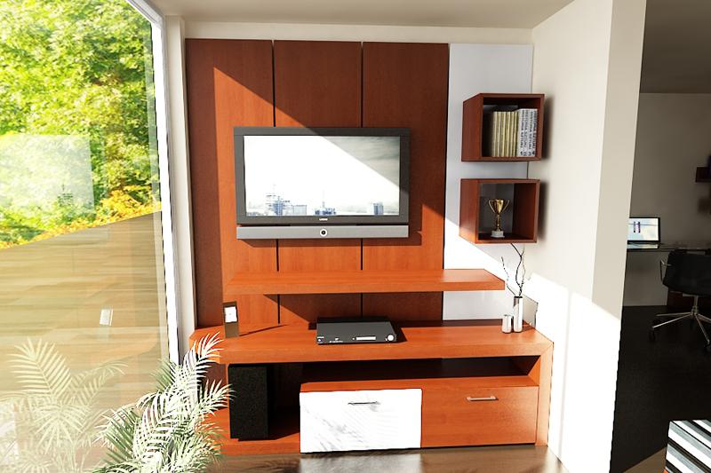 Dormitorio Mueble TV 6
