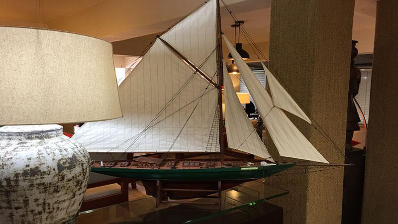 Barco madera