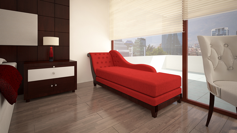 Dormitorio Chaise Long
