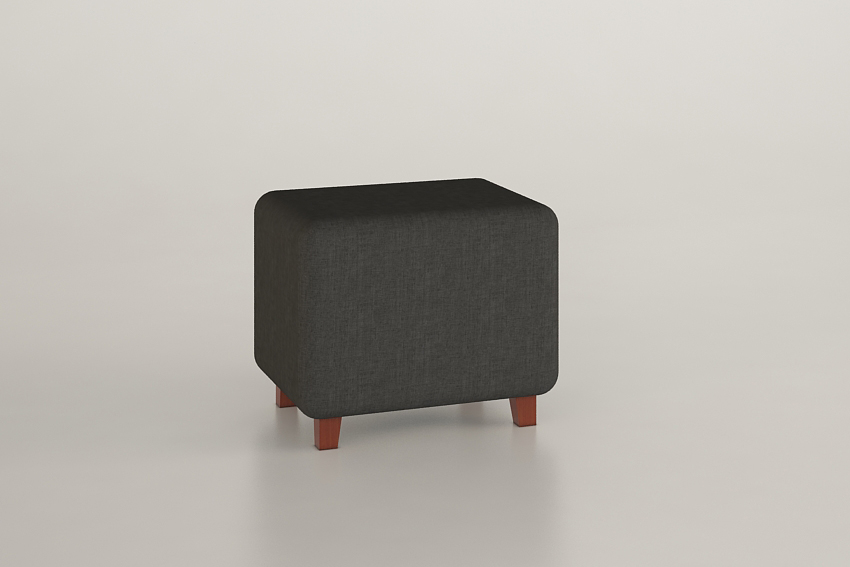 Pouf rectangular