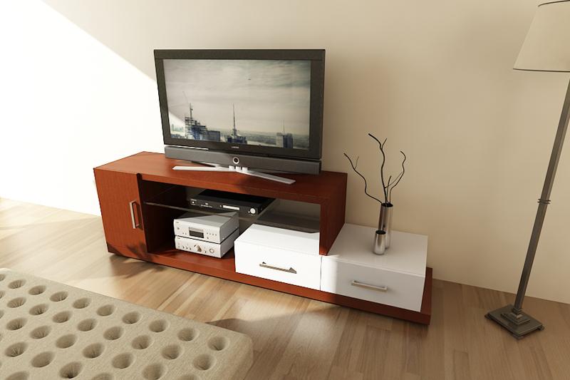 Dormitorio Mueble TV 10