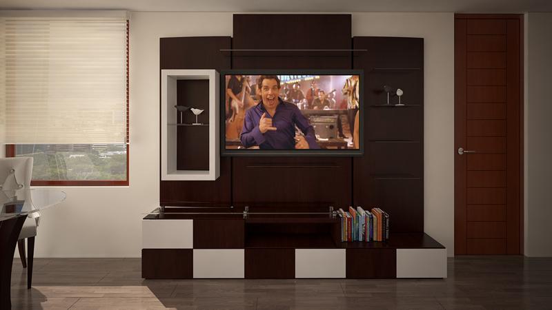 Dormitorio Mueble TV 7
