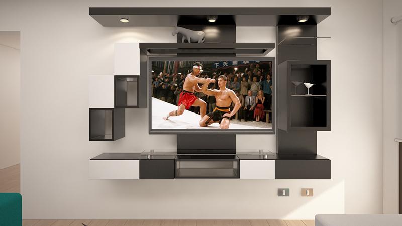 Dormitorio Mueble TV 5